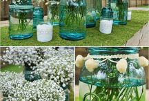 Wedding Flowers / Bouquets, Bridal bouquets, Boutonnieres, Centerpieces, Aisle Decor etc!  / by Nik G