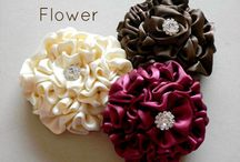 Fabric Flower DIY / by Penny Lewis
