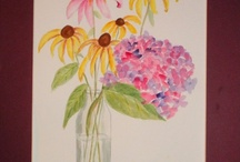 Flowers and Paintings / by Lori Occhiogrosso