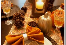 Thanksgiving Table Decor / by Misty Hill