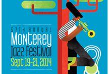 Jazz Festival Posters / Jazz Festivals Around the World / by Resonance Records