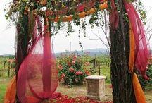 Autumn Fall Wedding Ideas / #autumn #wedding #fall #candy #dessert / by Sweet City Candy