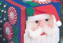 Plastic canvas Christmas / by Teresa Beckman