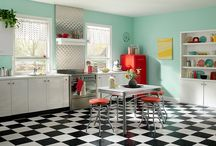 Color Your Kitchen / Looking for paint inspiration for your kitchen? Check out our kitchen board for a myriad styles and paint colors.  / by BEHR®