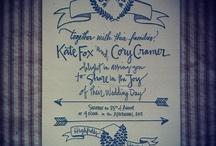 Wedding invites / by Jo Wiseman