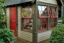 Bird Houses & Garden Sheds / by Gwen Bissette