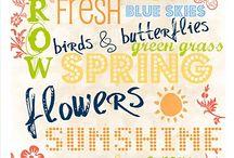 spring / by Marcia Tobey Waldorf