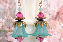 jewelry crafts (ear rings- flowers) / by Jory Buxton