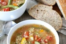 Food: soup / by Katie Phares