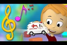 Kids ♥ Music & Songs / Musical instruments arts & crafts, sing-along songs for kids, online music games for kids, how-to teach kids about music articles, coloring pages, and anything else parents and educators need to teach preschool children about the wonders of music!  / by TuTiTu