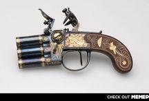 Pistolas / by Fred Pokrzywa