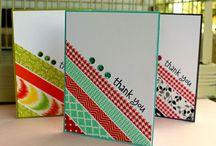 washi tape ideas / by Kathy Dzelzkalns