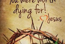 EASTER / Lent / He was pierced for our transgressions, crushed for our iniquities; the punishment that brought us peace was upon Him, and by His wounds, we are healed.  Isaiah 53:5 / by VICKY SISTER 2