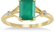 Elegant Emerald / by Szul Jewelry