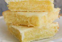Lemon bar brownies / by Karen Vacchieri