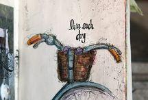 Art Journal/Creative Play / by Kay Stockham