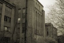 Abandoned places around the country / by Amey Markert