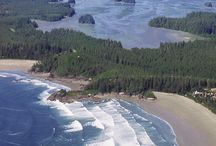 Destination Tofino, BC / Are you planning a meeting, executive retreat or incentive trip?  Tofino is a destination for active to very leisurely pursuits.  Find inspiration and teambuilding as you paddle a genuine Nuu-chah-nulth dugout canoe across Tofino Inlet together.  Challenge each other in a surf lesson, customized to your group.  The rewards after a day's work (or play) are many here:  a traditional First Nations salmon BBQ, a crab dinner, cocktails against a backdrop of a jaw-dropping sunset.   / by Max West Global DMC (Canada)
