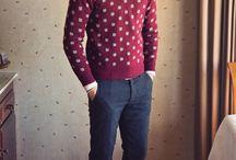 Men's Knitwear Inspiration / by Louisa Crompton