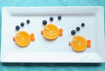 PreK Food / Presentation makes a world of difference, especially with toddlers and preschoolers! Here are a bundle of ideas for preK food that they'll actually eat - and sometimes have fun with too. / by Joanna Liberty of JustJoanna.com