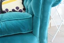 Velvet Furnishings ~ / Plush and beautiful ~  / by Elizabeth Simmons