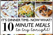 10 minute recipies / by Ken Gerhart