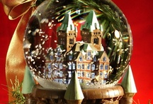 PUTZ HOUSES & SNOW GLOBES / by The Lady Ella HPS