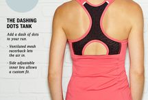 Runner's Delight / Add a dash of style to your run.  / by lucy Activewear