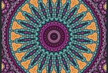 mandalas, mosaics, textiles, and tiles / by Lavonne Lesley