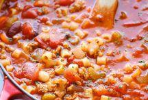 soups / by Marcia Tucker