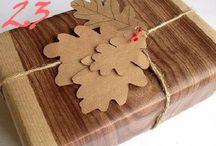 Gift Wrap Ideas / by Mij Tran