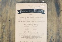 Wedding - Text/Invites / by Mags