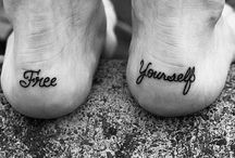 Tattoo Ideas / by Rachel Martin