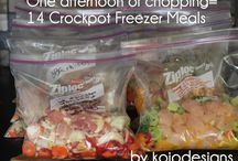 Freezer Cooking Recipes  / by Tabitha