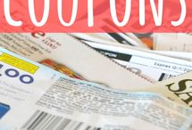 Coupon tips / by Ashley Hunt