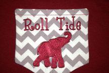 Roll tide / by Morgan Patrenos