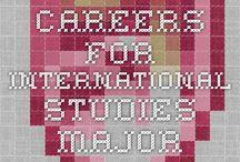 For International Studies Majors / by Earlham Career Education Office