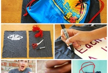 Upcycled T-shirts / by Leigh Ann Galloway Bish