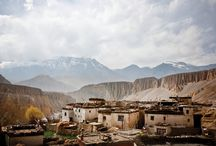 The lost kingdom of Lo / Photographer Taylor Weidman was given special permission by the government of Nepal to travel in the restricted area of Mustang. Read the rest here: http://www.boston.com/bigpicture/2012/04/mustang_nepals_former_kingdom.html / by Freddie Benjamin