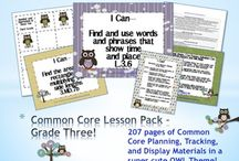 3rd Grade Common Core / by Debra Bolinger