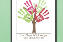 Homemade gifts - grandparents / by Jessica Lenz