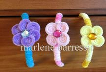Moms PipeCleaner Creations / Pipe Cleaner Creations I made for my daughter  / by MarloomZ Creations