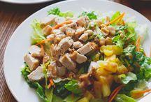 yum | salads. / by Charly MacMurchy