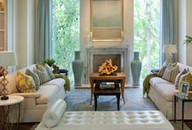 Living rooms / Beautiful living spaces / by Kim Zimmer