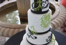 Green Wedding Cakes / by Ph.D.-serts & Cakes