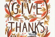 Thanksgiving Blessings / A time to gather with friends and family and count our blessings *** / by Rose Vining