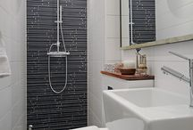 bathroom/laundry ideas / by Leslie Simpson