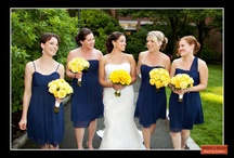 Bridesmaids! / Okay, so they aren't the star of the show -- but these lovely ladies deserve some attention too! Get inspired by these great bridesmaid's dresses! / by Person + Killian Photography