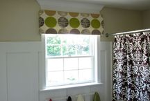 window treatments / by Carol Johnson