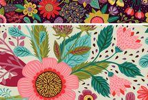 The Arsty Fabric/Designs Board / by Paula Willett